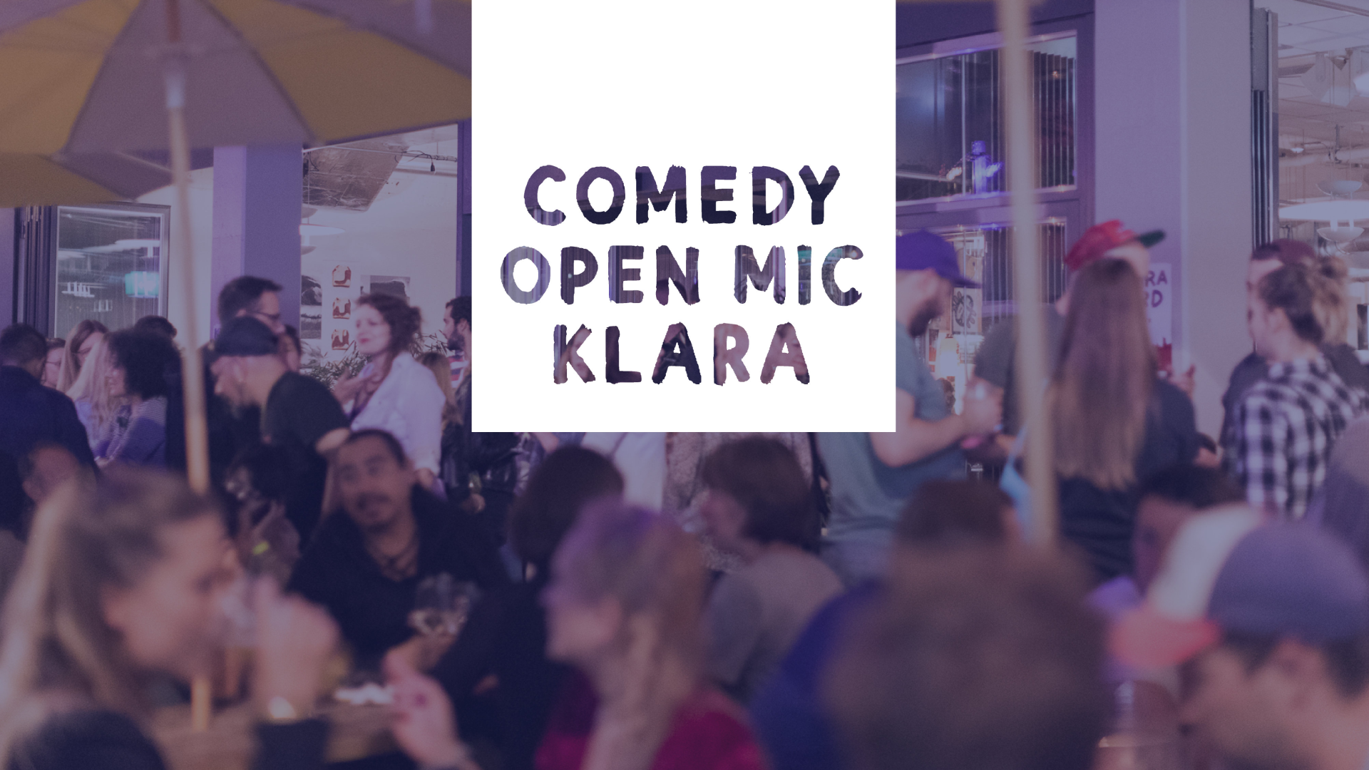 Comedy Open Mic at Klara event cover image