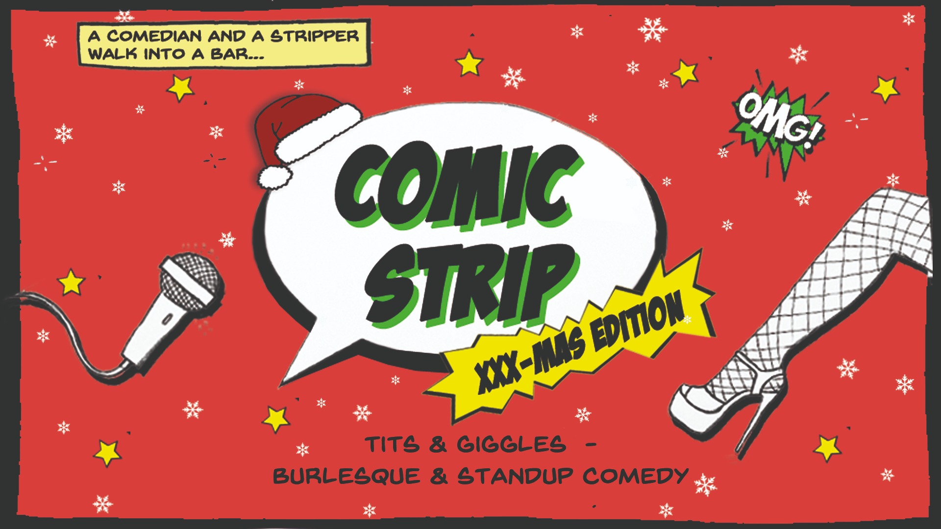 Comic Strip XXX-mas